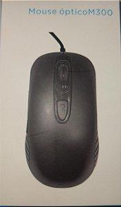MOUSE COM FIO ÓPTICO USB M300