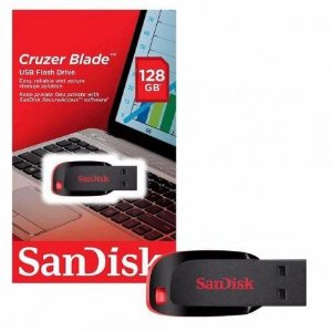 PEN DRIVE CRUZE BLADE Z50 128GB SANDISK