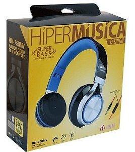 HEADPHONE HIPER MUSICA FASHION SUPER BASS INFOKIT HM-750MV