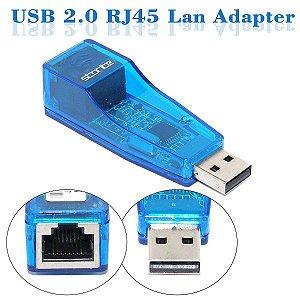 ADAPTADOR 2.0 USB LAN RJ45 MXT