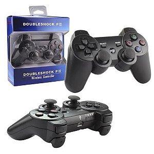 CONTROLE DE PLAYSTATION PS3 COM FIO DOUBLESHOCK XLS 107