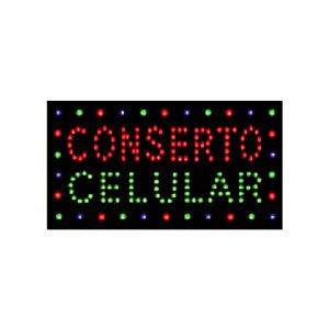 PLACA DE LED CONCERTO CELULAR 26X49 220V 5W LE-3008