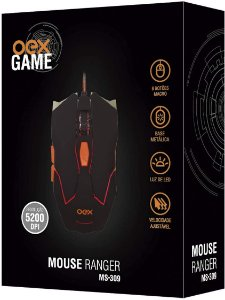 MOUSE RANGER 6 BOTÕES USB OEX MS309