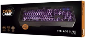 TECLADO BLADE USB OEX GAME TC203