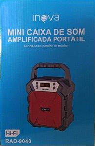 MINI CAIXA DE SOM RAD-9040 INOVA 12W