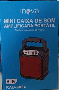 MINI CAIXA DE SOM RAD-9034 INOVA 6W