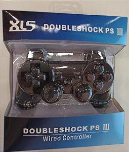 CONTROLE DE PS3 SEM FIO DOUBLESHOCK XLS 108