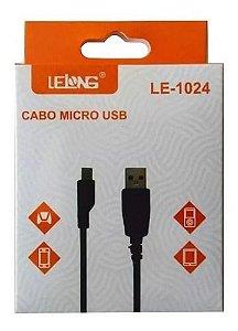 CABO DE DADOS MICRO USB V8 LELONG LE-1024