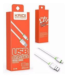 CABO DE DADOS 1M IPHONE KAIDI KD-306