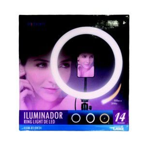 RING LIGHT 14 POLEGADAS COM TRIPE DE 1.8M EXBOM R14W34