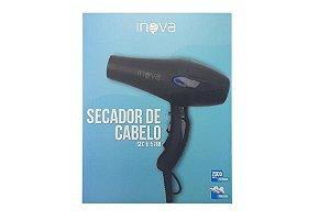 SECADOR DE CABELO INOVA 1800 WATTS 127V - 50/60H SEC-U-576B