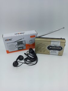 MINI RADIO AM/FM COM ENTRADA P2 LELONG LE-651