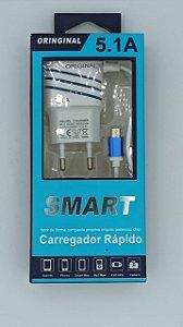 CARREGADOR RÁPIDO V8 5.1 SMART