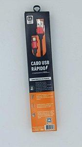 CABO DE DADOS BASIKE 1M 2.4A V8 BA-CBO9979