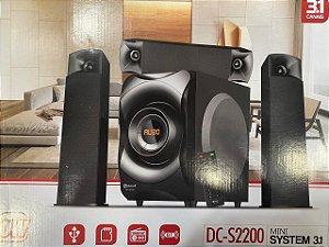 MINI SYSTEM 3.1 60W BT/MP3/USB/FM DOTCELL DC-S2200