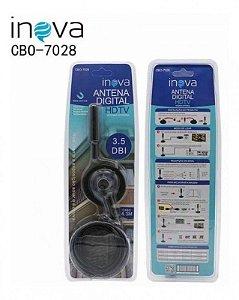 ANTENA PARA TV DIGITAL 3,5dBi BASE MAGNETICA 4.3M INOVA CBO-7028