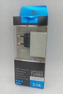 CARREGADOR TURBO LOTUS 3.1A V8 COM 2 ENTRADA USB