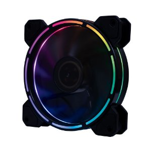 COOLER FAN 120MM 12 LEDS COLORIDO 1200RPM OEX GAME F40