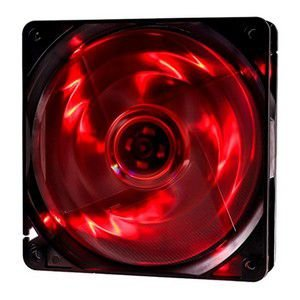 COOLER FAN 120MM 4 LEDS VERMELHO 1000RPM OEX GAME F10