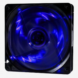 COOLER FAN 120MM 4 LEDS AZUL 1000RPM OEX GAME F10