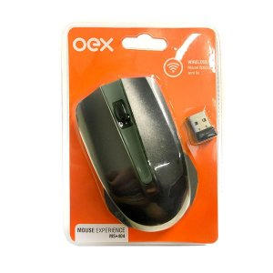 MOUSE EXPERIENCE WIRELESS 1200DPI OEX MS404PR