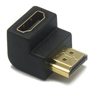 ADAPTADOR 90 HDMI M P/ HDMI F