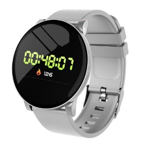 SMART WATCH FOR SPORTS W8 - CINZA