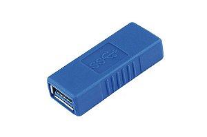 EMENDA USB FEMEA - FEMEA TOMATE MHC-5212