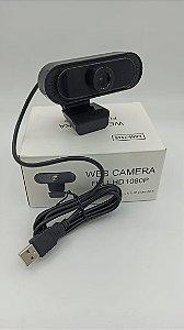 WEBCAM HD 1080P COM MICROFONE EMBUTIDO CAM-7415