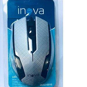 MOUSE COM FIO USB INOVA MOU-6910