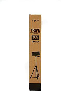 TRIPE SUPORTE TABLET CELULAR CAMERA DIGITAL CAMERA SLR 150CM INOVA SPO-8194