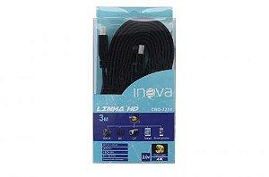 CABO HDMI 4K FULL HD 3M INOVA CBO-7214