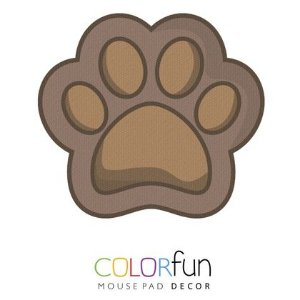 MOUSEPAD COLORFUN DOG PAW COLOR RELIZA 3382