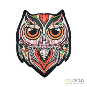 MOUSEPAD COLORFUN OWL COLOR RELIZA 3375