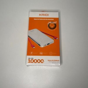 POWER BANK TRES SAIDAS V8 LIGHTNING TYPE-C 10000 MAH KAIDI KD-231