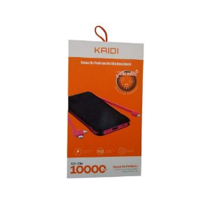POWER BANK TRES SAIDAS V8 LIGHTNING TYPE-C 10000 MAH KAIDI KD-236