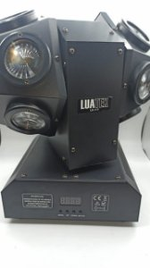 DOUBLE BEAM LED MOVING HEAD LIGHT 14 LED LUATEK LK-111