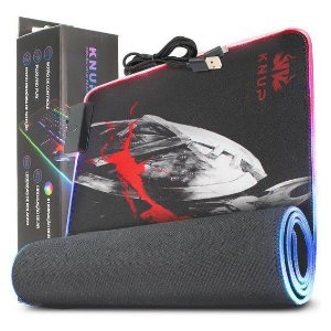 MOUSEPAD GAMING RGB USB KNUP KP-S10