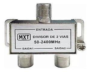 DIVISOR 2 SAIDAS 50-2400MHZ (ALTA-BAIXA)
