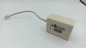 FILTRO ADSL DUPLO COM CABO