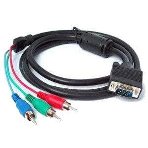CABO VGA DB15 x VIDEO COMPONENTE X-CELL (3.0M) BAG