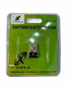 ADAPTADOR BLUETOOTH 4.0 USB X-CELL XC-BTT-04
