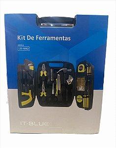 KIT DE FERRAMENTAS 26 PEÇAS IT BLUE LE-992