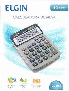 CALCULADORA DE MESA 12 DIGITOS ELGIN MV4122