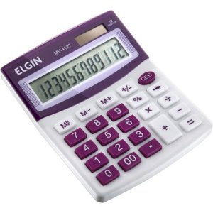CALCULADORA DE MESA 12 DIGITOS NO BLISTER ELGIN MV4127