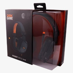 HEADSET SHIELD 7.1 VIRTUAL SURROUND 2.2M USB OEX GAME HS409BPR
