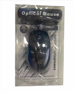 MOUSE USB OPTICAL MOUSE 1200DPI SHINKA MO-8196