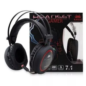 HEADSET GAMER 7.1 USB 2.2M KNUP KP-401