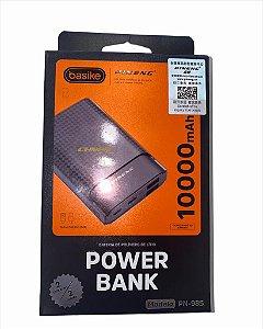 POWER BANK PINENG 10000MAH 2 ENTRADAS 2 SAIDAS 6 IONS DE LITIO BASIKE PN-985