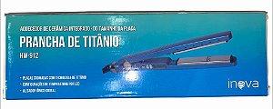 CHAPINHA DE TITÂNIO INOVA HW-912